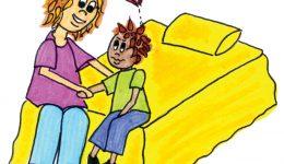 Accompagner son enfant, écoute, adulte de confiance, enfance libre lanaudiere, confidence, tensions, tension, famille