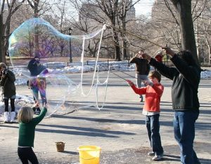 photo enfants bulles